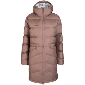 Mammut Fedoz IN Hooded Parka Women deep taupe